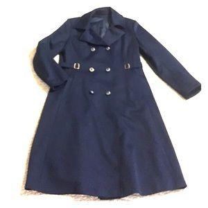 Vintage 1960's blue lightweight coat